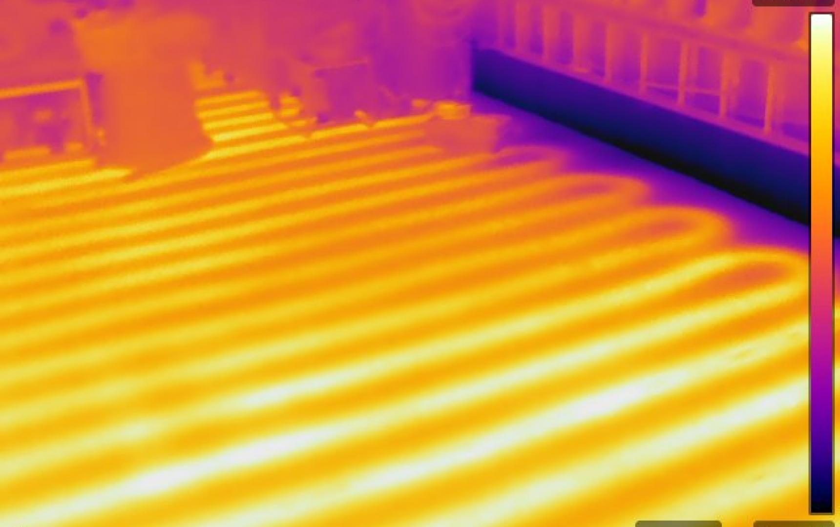 Infrared Diagnostics, Radiant floor heat , MA