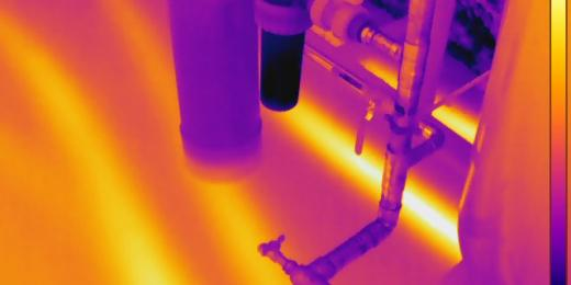 Infrared Diagnostics, infraredscanofradiantfloorheat, MA